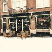 Cafe Scharrebier winterfoto
